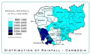 Map-rainfall-Cambodia