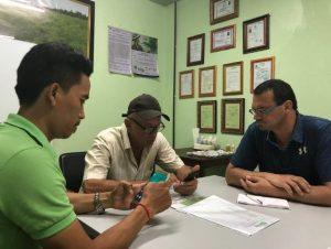 Meeting at Baca-Villa