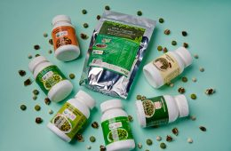 Moringa products display